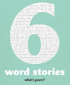 Weekly 6 word story!