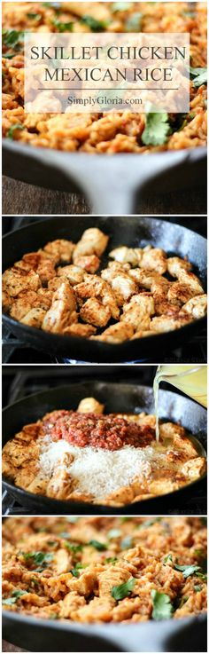 Skillet Chicken Mexi