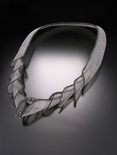 Necklace   Erin Cornell. 'Mesh'