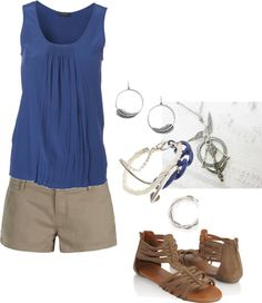 Summer, created by hayleejade3 on Polyvore