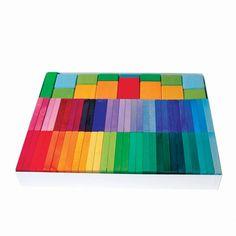 Color Rally Building Blocks  Grimm's Spiel und Holz Design