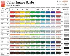 Tool Tip Tuesday Rgb  Hex Color Code Charts For Stampin Up