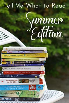 Tell Me What to Read: Summer 2014 Edition: Book suggestions in comments