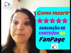 FANPAGE   Como  Inserir Avaliação de Conteúdo  Na FANPAGE - #Minicurso A...