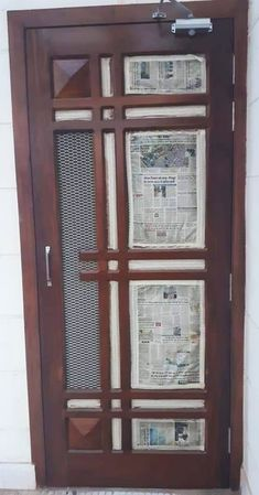 Homemade door design is or your luxury houses, you can choose fancy entrance doors prepared with glass grills or different framing. House Main Door Design, Wooden Front Door Design, Front Gate Design, Double Door Design, Door Gate Design, Room Door Design, Door Design Interior, Modern Wooden Doors, Wood Doors