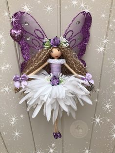 Fairy Crafts, Angel Crafts, Doll Crafts, Tiny Dolls, Soft Dolls, Clay Fairy House, Clothespin Dolls, Christmas Crafts, Christmas Ornaments