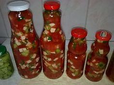 Rosii cu telina si ardei iute pentru ciorbe - imagine 1 mare Canning Pickles, Meal Ideas, Sauces, Food, Canning, Essen, Meals, Gravy, Yemek