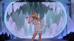 Check Out Taylor Swift perform Trouble on the 2013 Victoria's Secret Fashion Show