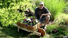 If you're looking for decorative new planter ideas for your garden, look no further! We're pleased to present a tutorial demonstrating how to create your very own miniature wheelbarrow planter, all from a single pallet! This project uses minimal tools, so it's perfect for those who are new to DIY. This project can be …