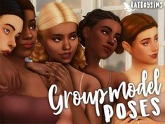 The Sims 4 ratboysims: group model poses Sims 4 Teen, Sims Four, Sims 4 Mm Cc, Prom Photography Poses, Children Photography, Sims 4 Stories, Sims 4 Cc Packs, Group Poses, Family Picture Outfits