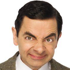 Funny Faces Images, Mr Bean Cartoon, Mr. Bean, Rowan, Mr Bean Funny, Old Man Portrait, Johnny English, Patchy Beard, British Sitcoms