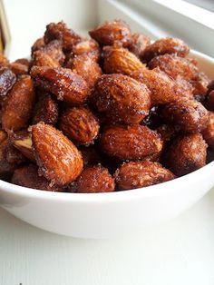 Super Easy Honey Roasted Almonds
