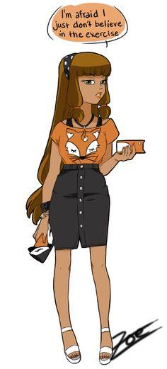 Volpina fashion by Zoe-oneesama