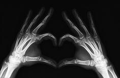 #yearofcolor skeleton heart