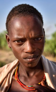 Warrior, Ebore Tribe, Ethiopia | by Rod Waddington