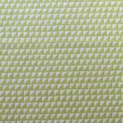 """Ellen Luckett Baker Framework Canvas - Steps (Chartreuse) 15% Linen/85% Cotton, canvas, 44/45"""" wide"""