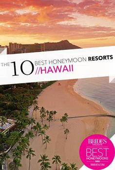 After the wedding is over, comes the best party—the honeymoon. Here's everything you need to know to plan the perfect honeymoon, from booking tips to the most awe-inspiring and romantic destinations. Best Honeymoon Resorts, Hawaii Resorts, Honeymoon Places, Best Resorts, Honeymoon Destinations, Honeymoon Ideas, Romantic Destinations, Fantasy Wedding, Vacation Spots