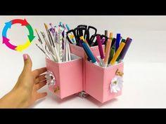 ORGANIZADOR GIRATORIO,manualidades con reciclaje - YouTube