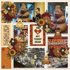Me and my teddy September Monthly Mix by Gingerscraps Designers  http://store.gingerscraps.net/GingerBread-Ladies-Monthly-Mix-Me-and-My-Teddy.html Amazing year - September 2. by Tinci Designs  http://store.gingerscraps.net/Amazing-year-September-2..htm