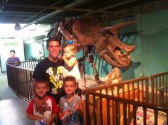 Me, Abigale, Ayden, Daniel... Oh Yea! + A Dinosaur