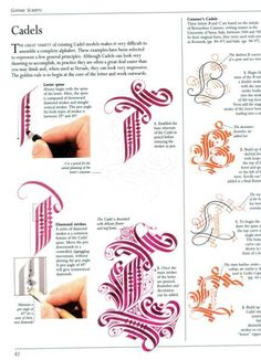Lettering art of calligraphy