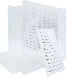 aa27cb28698 Professional Acrylic Lash Plate Storage Organizer Box Makeup Eyelash  Extension Holder (C Style) #