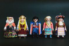 PlaymoGREEK με πιστά αντίγραφα παραδοσιακών ενδυμασιών. Δημιουργός: Πέτρος Καμινιώτης. Φωτογραφία: Πέτρος Καμινιώτης Folk Dance, Princess Zelda, Traditional, Wedding Dresses, Greece, Fictional Characters, Collection, Party, Clothes