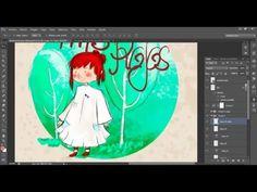 Tutorial photoshop | Ilustración para libros infantiles