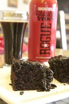 Have your cake and drink it too - National Chocolate Cake Day. Here's a recipe for chocolate stout cake from Bon Appétit Magazine made with Rogue Chocolate Stout http://bonapp.it/XIF5gz