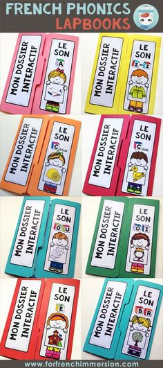 French Phonics Lapbooks French Phonics Lapbooks: fun, engaging activities for lapbooks and interactive notebooks. Kids focus on one letter-sound correspondence at a time! Ways Of Learning, Learning Spanish, Learning People, How To Speak French, Learn French, Anchor Charts, French Articles, French Resources, French For Beginners