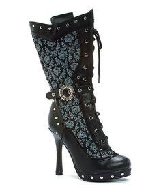 Black Beth Costume Boot #zulily #zulilyfinds