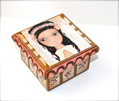 Special Custom Listing for Laura   Mixed Media First by FlorLarios, $25.00