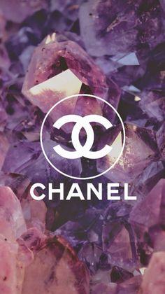 Un Magnifique Fond D'écran Chanel que j'adore !! A Beautiful Wallpaper of Chanel !!!