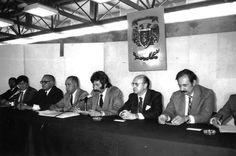 Jesús Guzmán, José Luis Galván, Manuel Viejo y Jaime Keller; años ochenta
