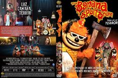 Caratula cover DVD The Banana Splits Movie Split Horror Movie, Split Movie, The Banana Splits, Apps, Chucky, Party Treats, Geek Stuff, Cool Stuff, Cover