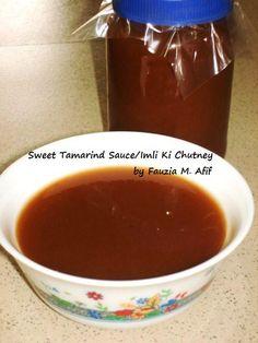 Sweet Tamarind/Imli Ki Chutney   Fauzia's Kitchen Fun