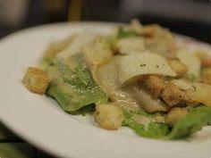 Salada Caesar com Surubim Defumado   Saladas   Receitas Gshow   Receitas.com
