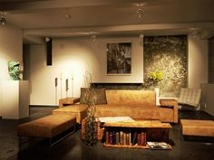 living room night by brown-eye-architects on DeviantArt