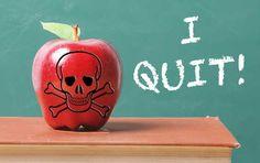 Teacher's resignation letter: 'My profession … no longer exists'