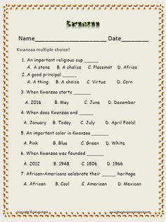 It is a photo of Exhilarating Black History Month Quiz Printable