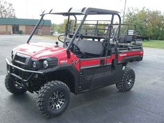 New 2017 Kawasaki Mule Pro-FX EPS LE ATVs For Sale in Kentucky. 2017 Kawasaki Mule Pro-FX EPS LE, 2017 Kawasaki Mule Pro-FX EPS LE THE KAWASAKI DIFERENCE KAWASAKI STRONG The 2017 MULE PRO-FX is our fastest, most powerful, three-passenger MULE side x side ever. Built on the same rugged platform as the MULE PRO-FXT , this revolutionary side x side also comes equipped with the largest cargo bed in its class. To top it off, the MULE PRO-FX is backed confidently by the Kawasaki STRONG 3-Year…