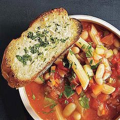 Here are our 20 most popular recipes that run the soup spectrum -- from chicken noodle to tomato minestrone.  You'll never make a bowl of boredom again!
