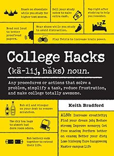 College Hacks by Keith Bradford.