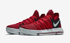fbe7637e43a3 Sale Newest KD 10 University Red Kevin Durant Shoes 2017