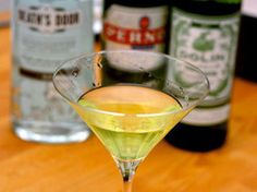 The Obituary Cocktail | Serious Eats : Recipes Gin-Vermouth-Absenthe