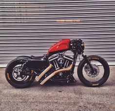 Best bobber I've seen yet! #harleydavidsonsporster