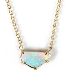 Catbird::shop by category::JEWELRY::Necklaces::Opal in the Sky Necklace