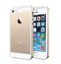 Scratch-Resistant Slim Rubber Champagne Gold Case for iPhone 5/5S