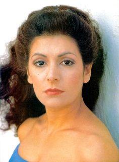 Marina Sirtis__The Next Gen. Most Beautiful Women, Beautiful People, Star Trek Theme, Deanna Troi, Marina Sirtis, Star Trek Cast, Star Trek Images, Star Trek Characters, Star Trek Universe
