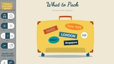 What To Pack Generates a Quick Checklist of Travel Essentials